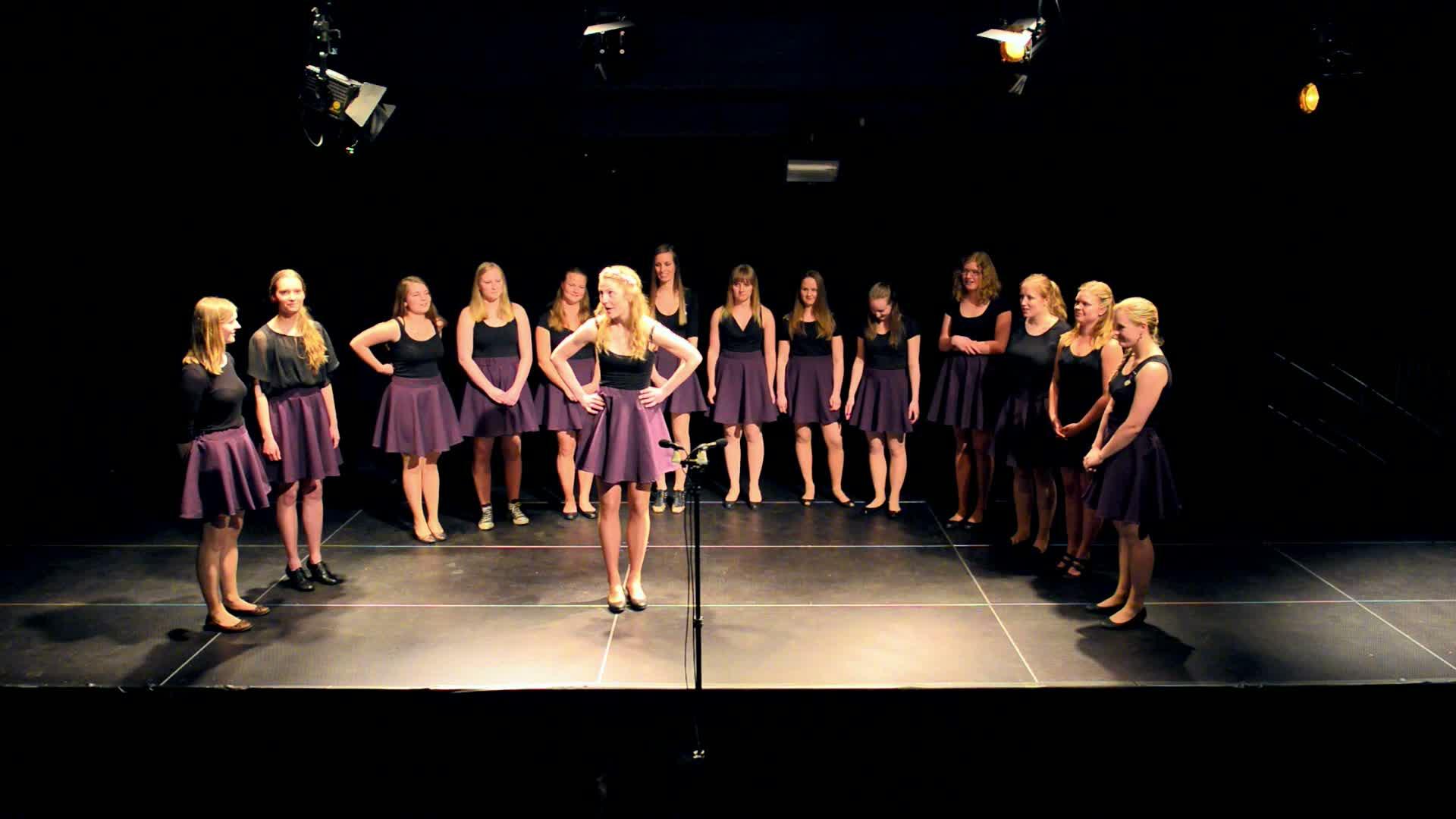 Korkonsert vår '14: I won't say I'm in love
