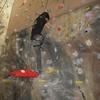 Gøran klatrer