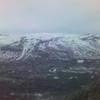 Utsikt over skiområdet